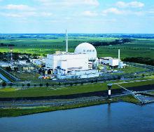 Kernkraftwerk Brokdorf: Laut Greenpeace-Studie drängt Atomstrom erneuerbare Energien aus dem Netz.
