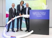 Frankfurt am Main erhält ein flächendeckendes Gigabit-Netz.