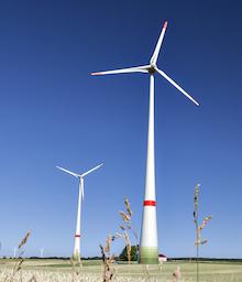 """Die EnBW beteilige sich aktiv an der Verwirklichung der Energiewende. """"Dabei zählt jedes einzelne Windrad"""", sagt Michael Soukup von der EnBW."""
