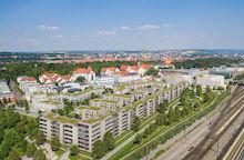 Nach Angaben von chargeIT mobility entsteht im Dörnberg in Regensburg eines von Europas größten Last-Management-Projekten.