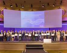Die Preisträger des 17. E-Government-Wettbewerbs.