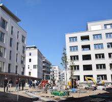 Im Berliner Quartier Möckernkiez werden Ökostrom und saubere Wärme größtenteils direkt vor Ort erzeugt.