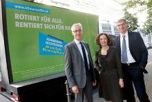Festverzinsliche Geldanlage für Bürger: Vorstellung der Klimarendite der Berliner Stadtwerke.