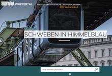 Über die modernisierte Website der Stadt Wuppertal soll künftig auch ein Portal für digitale Bürgerservices erreichbar werden.