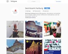 Hamburger Bezirk Harburg nutzt Instagram.