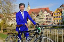 Tübingens Oberbürgermeister Boris Palmer ist überzeugt, dass Photovoltaik in der Stadt die billigste und beste Stromquelle ist.