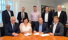 Für mehr Bandbreiten besiegelt der Kreis Soest eine Zusammenarbeit mit innogy TelNet.