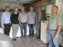 Start des Speicher-Pilotprojekts in Neusorg.