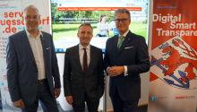 Düsseldorf startet Serviceportal für Online-Behördengänge.