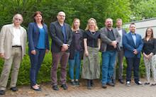 Das Projekt-Team von SmartDemography traf sich erstmals Ende Mai 2018 an der Hochschule Bochum.