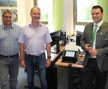 Landratsamt des Kreises Schwandorf macht große Schritte in Richtung papierlose Verwaltung.