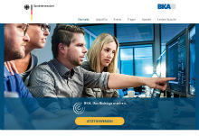 BKA sucht mittels Personalmarketingkampagne neue Mitarbeiter.