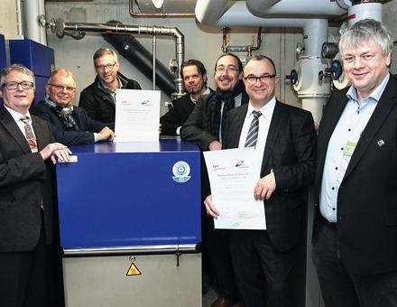 """Mieterstrommodell der Stadtwerke Konstanz wurde als """"BHKW des Jahres 2016"""" ausgezeichnet."""