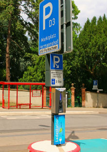 Eine Ladesäule mit Bluetooth-Schnittstelle zur einfachen Abrechnung über eine Smartphone-App haben die Stadtwerke Weinheim in Betrieb genommen.