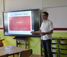 Stadt Leverkusen schafft in ihren Schulen die baulichen Voraussetzungen für einen digitalen Unterricht.