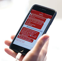 WienBot-App: Sprachfunktion nutzen statt tippen.