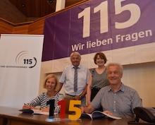 Mit Oldenburger Hilfe verbessert die Gemeinde Wardenburg ihren Telefonservice.