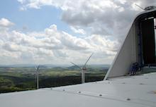 Der Trianel-Windpark Buchenau besteht aus fünf Windkraftanlagen mit einer Gesamtleistungvon 17,25 MW und wurde im Dezember 2016 in Betrieb genommen.
