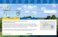 Der neue Internet-Auftritt des Kreises Oldenburg basiert auf dem Content-Management-System von Nolis.