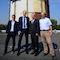 Der neue Fernwärmespeicher der Stadtwerke Duisburg läuft im Probebetrieb.