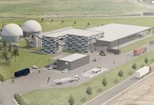 So könnte die von MVV in Bernburg/Saale geplante neue Bioabfallvergärungsanlage aussehen. Der Baubeginn ist für das erste Quartal 2019 angesetzt.