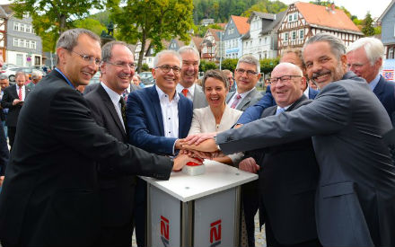 "Hessenweites WLAN-Förderprogramm ""Digitale Dorflinde"" startet in Biedenkopf."