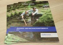 Badenova hat seinen zehnten Ökologie- und Nachhaltigkeitsbericht veröffentlicht.