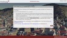 Via 3D-Modell lässt sich die Stadt Freiburg nun im Internet erkunden.