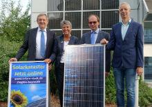 Der Startschuss für das Online-Solarpotenzialkataster der Region Bayreuth ist gefallen.