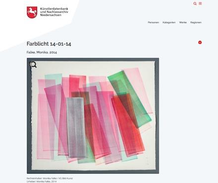 Niedersachsen: Künstlerdatenbank macht kulturelles Erbe online zugänglich.