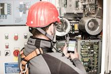 Die Techniker von ABO Wind sind seit Juli 2018 mit der App Reportheld auf ihren Smartphones in Windparks in ganz Europa unterwegs.