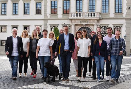 Die Hauptabteilung Kommunikation der Stadt Augsburg.