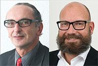 Josef Horn und Oliver Thomas vom Staatsanzeiger für Baden-Württemberg