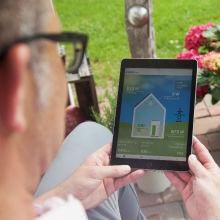 Die Energieflüsse im eigenen Haus im Blick – mit der VARTA Storage App.
