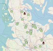 Daten zu Obstbeständen in Schleswig-Holstein könnenonline auf einer interaktiven Karte abgerufen werden.