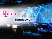 Telekom und Bundeswehr arbeiten bei der Cyber-Abwehr künftig enger zusammen.