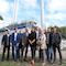 EWE nimmt mit Gästen aus Verwaltung und Wirtschaft das neue Blockheizkraftwerk in Binz offiziell in Betrieb.