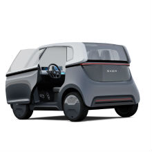 Fast quadratisch, praktisch, smart: E-Carsharing-Auto SVEN.