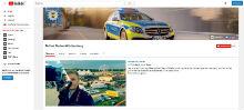 Polizei Baden-Württemberg hat YouTube-Kanal gestartet.