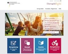 Elterngeld kann in Sachsen nun mithilfe eines Online-Portals beantragt werden.