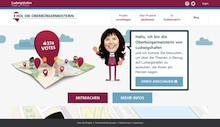 Welche Projekte die Oberbürgermeisterin der Stadt Ludwigshafen einmal besuchen sollte, können die Bürger via Internet öffentlich anregen.