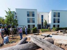Gemeinsam mit Partnern bauen die Stadtwerke Rüsselsheim den Horlache Park zum Quartier der Zukunft aus.