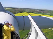Düstere Aussichten für Windenergie an Land.