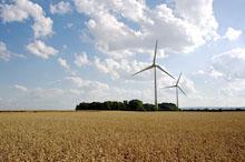 Windpark: Drei Prozent des Umsatzes aus der Stromproduktion sollen direkt in die Gemeindekasse fließen, fordert das Unternehmen Windwärts.