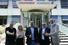 Als hundertster Kunde nutzen die Stadtwerke Konstanz das GWA-Angebot von Thüga SmartService.