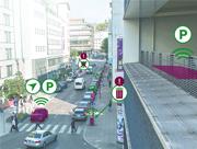 Sensoren liefern die Informationen für die intelligente Stadt.