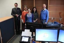 Im Schwandorfer Ausländeramt wird künftig per E-Akte gearbeitet.