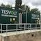 Tesvolt Batteriespeichersystem in Westhampnett in der Grafschaft West Sussex.