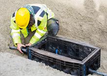 Kabelschächte aus Kunststoff: Alternative zu Betonschächten.