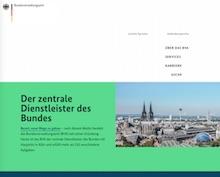 Website des Bundesverwaltungsamts ist nach umfassendem Relaunch bereit für den Portalverbund.